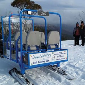 30minute sled tour hotham