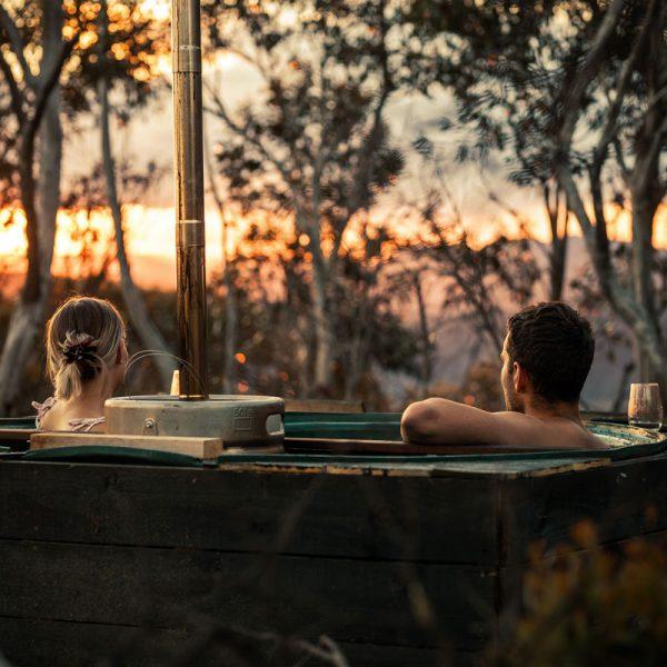 hot tub at mt hotham
